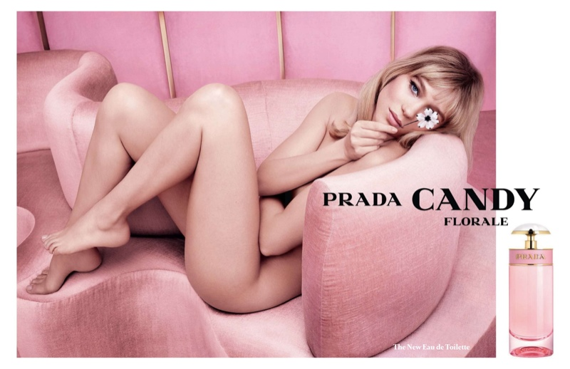 Lea Seydoux for Prada Candy Florale Fragrance