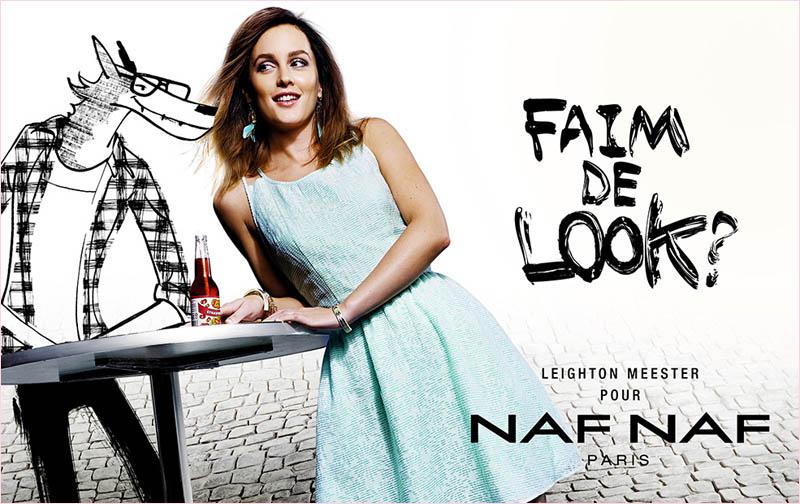 leighton-meester-naf-naf-spring-2014-campaign1