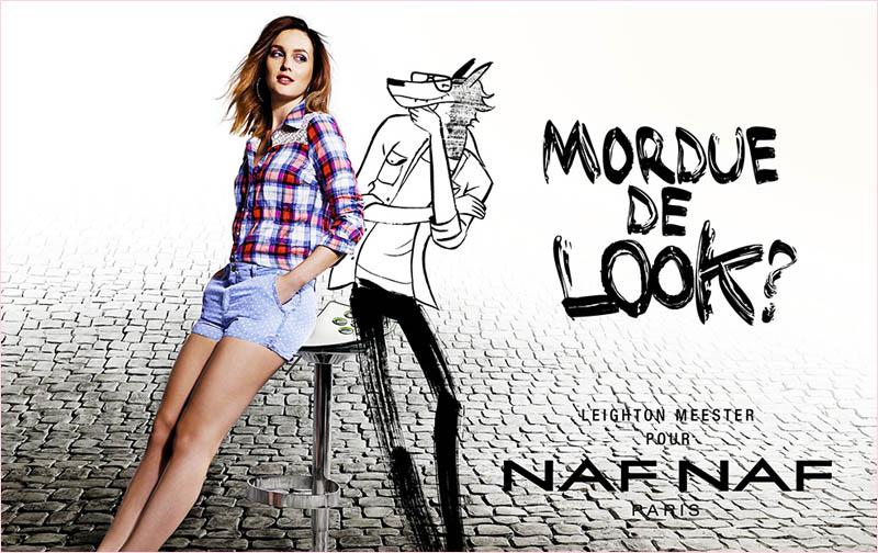 leighton-meester-naf-naf-spring-2014-campaign2