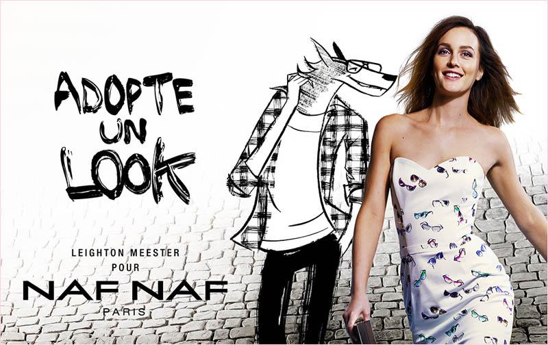 leighton-meester-naf-naf-spring-2014-campaign3