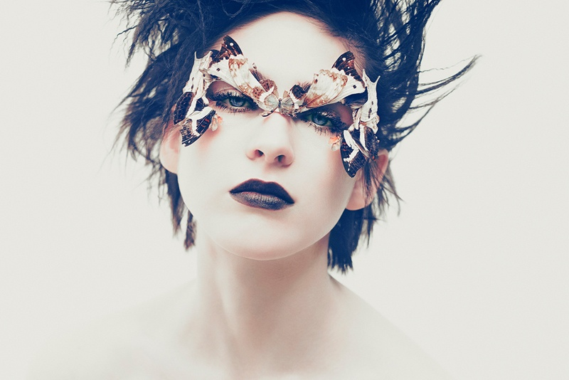 lida fox haute couture11 The Butterfly: Lida Fox in Spring Couture for CR Fashion Book by Arnaud Pyvka