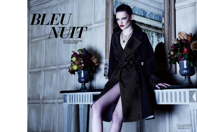 lilyandlilac DTKSpring2014 01 Bleu Nuit: Kristen M. Seduces for Dress to Kill by Lily & Lilac