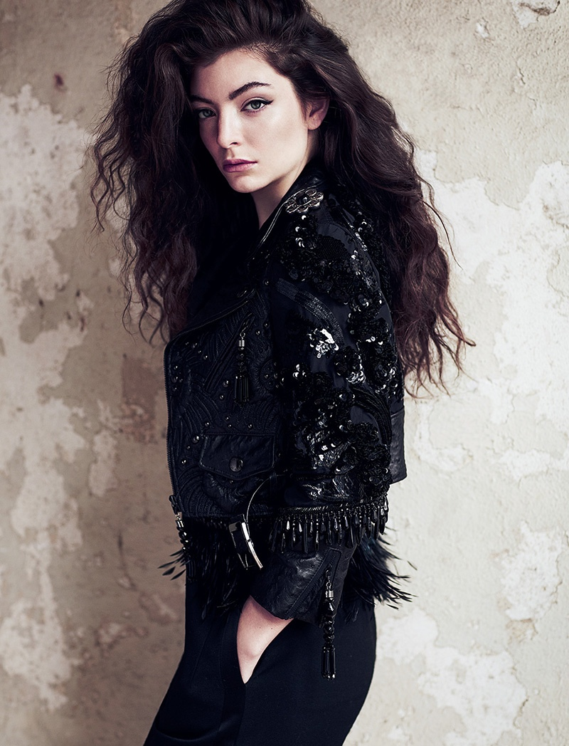 More Photos of Lorde's FASHION Story by Chris Nicholls