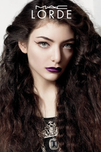 Lorde Broods in Her New MAC Cosmetics Campaign