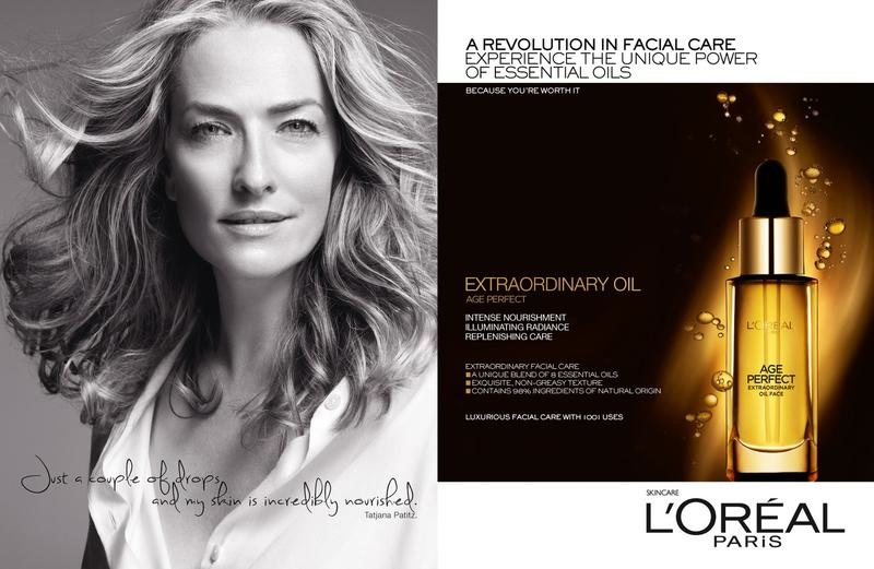 loreal age perfect campaign3 Jane Fonda, Doutzen Kroes + Tatjana Patitz Prove Beauty is Ageless in New L'Oreal Ad