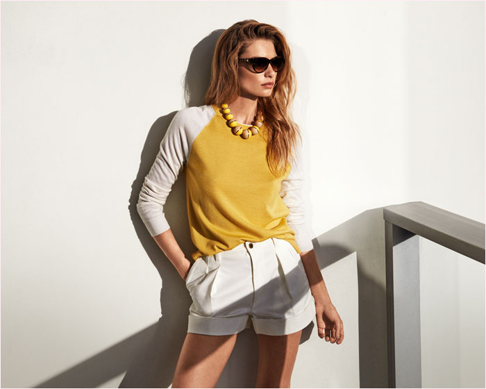 louis vuitton summer 2014 catalogue3 Jessica Hart is a Sun Seeker in Louis Vuitton Summer 14 Catalogue