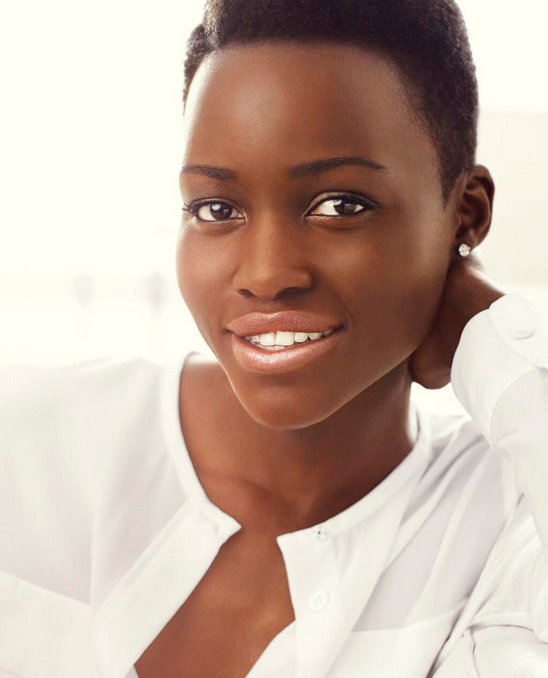 Photo: Lupita Nyong'o for Lancome by Alexi Lubomirski