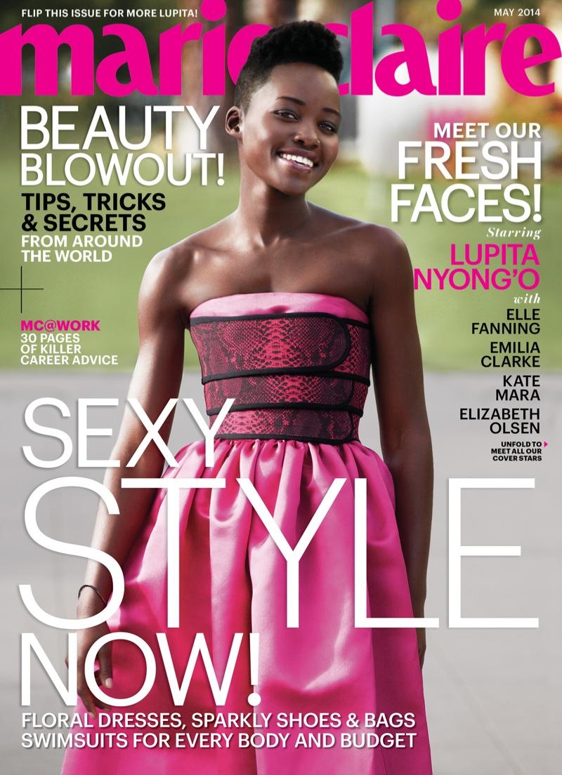 Lupita Nyong'o, Emilia Clarke, Kate Mara Cover Marie Claire May 2014