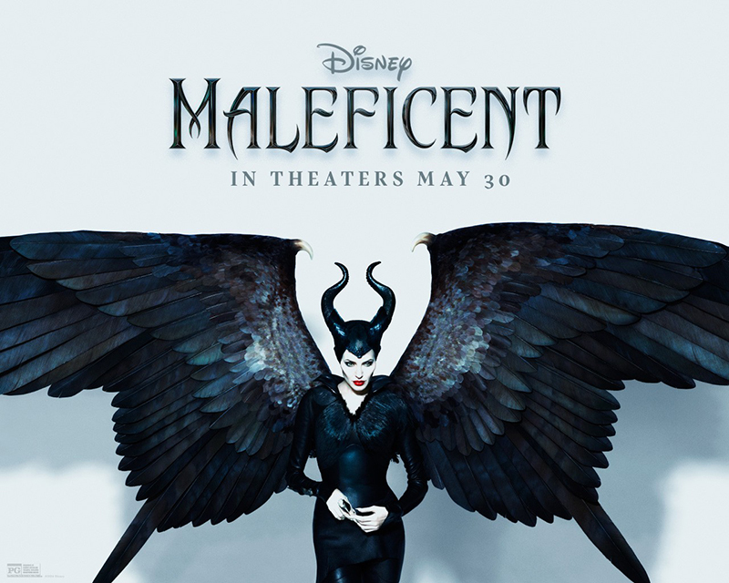 """Maleficent"" promotional image starring Angelina Jolie. Image: Disney"