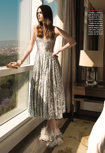 Maria Palm Wears Sophisticated Spring Looks for Vogue Mexico Feature
