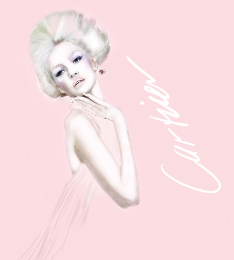 martine brand illustrations1 Fashion Illustrator Martine Brands New Exhibit