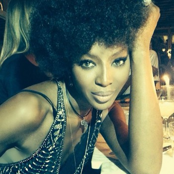 Photo: Naomi Campbell by Mert Alas. Courtesy of Instagram