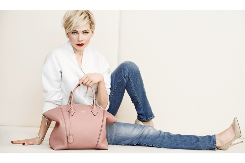 michelle williams louis vuitton 2014 photos4 Michelle Williams Re Ups with Louis Vuitton for New Campaign