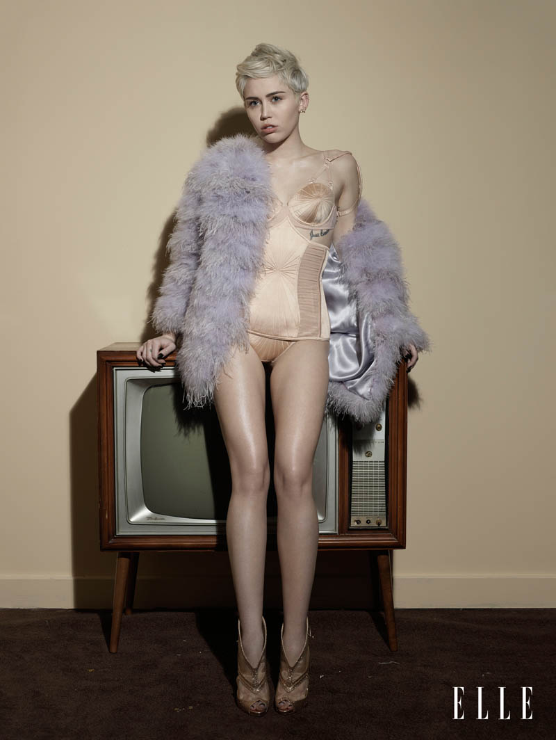 Miley Cyrus Talks Feminism & Double Standards in ELLE