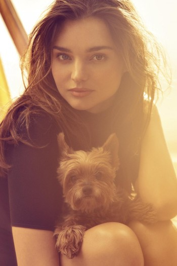 "Miranda Kerr Covers Harper's Bazaar UK, Calls Herself ""Bossy"""
