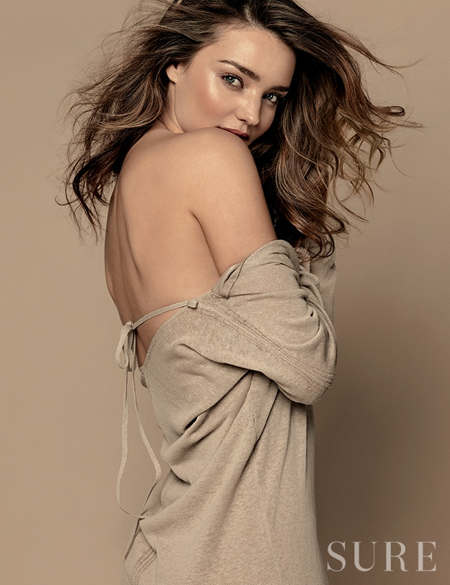 miranda kerr korea shoot4 Miranda Kerr Stuns in Neutrals for Sure Korea Photo Shoot