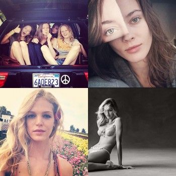 Instagram Photos of the Week | Erin Heatherton, Jac Jagaciak + More Models