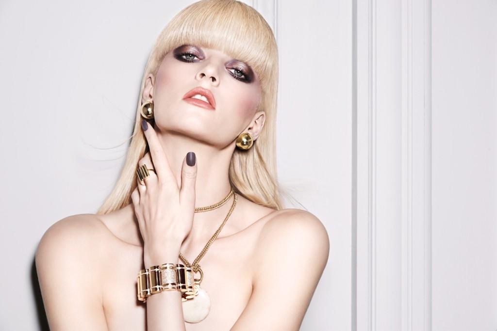 Daria Strokous Stars in NARS Cosmetics Dual-Intensity Eyeshadow Ad