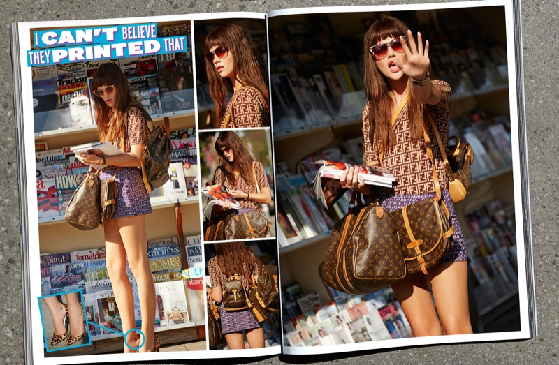 nasty gal vintage logo shoot1 Logomania: Nasty Gals Vintage Lookbook Has Arrived