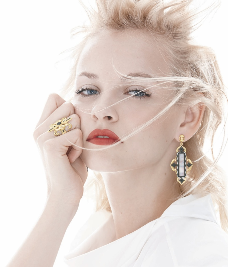 neiman marcus may 2014 book10 Sweet Spring: Jac Jagaciak + Ginta Lapina Pose for Neiman Marcus May Issue of The Book