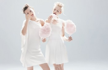 "Sweet Spring: Jac Jagaciak + Ginta Lapina Pose for Neiman Marcus' May Issue of ""The Book"""