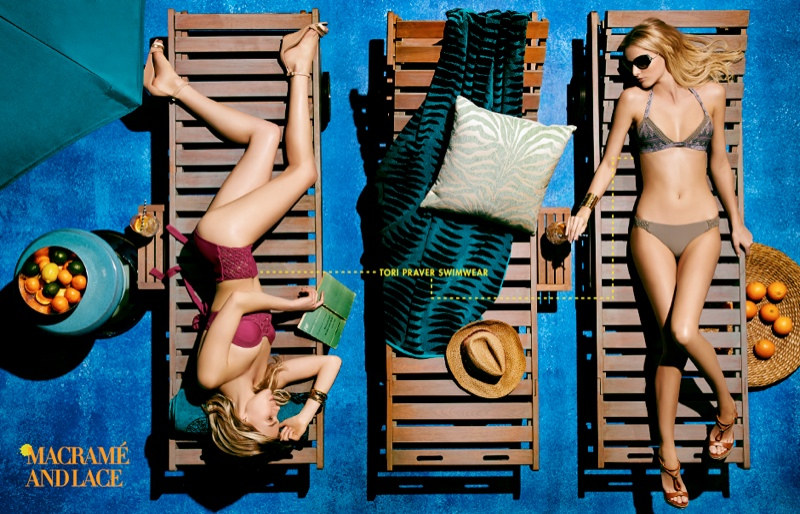 neiman marcus swimwear5 Britt Maren, Michaela Kocianova Model Swimwear in Neiman Marcus Shoot by Nick Prendergast