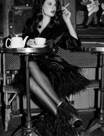 Paris Girl: Pauline Moulettes Poses for Michelle Du Xuan in L'Officiel China