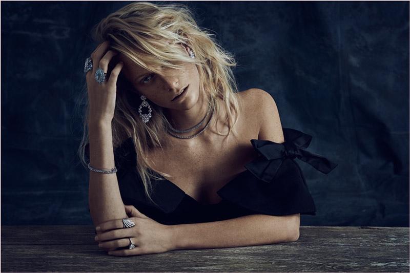 Poppy Delevingne Shines in Talento Jewelry 2014 Campaign