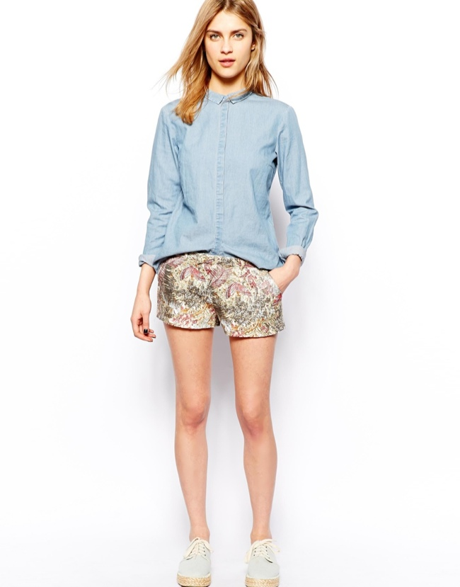 pull bear tropical print short 7 Shorts to Live in This Summer