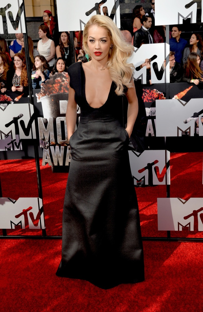 rita ora mtv movie awards 2014 MTV Movie Awards Red Carpet Style