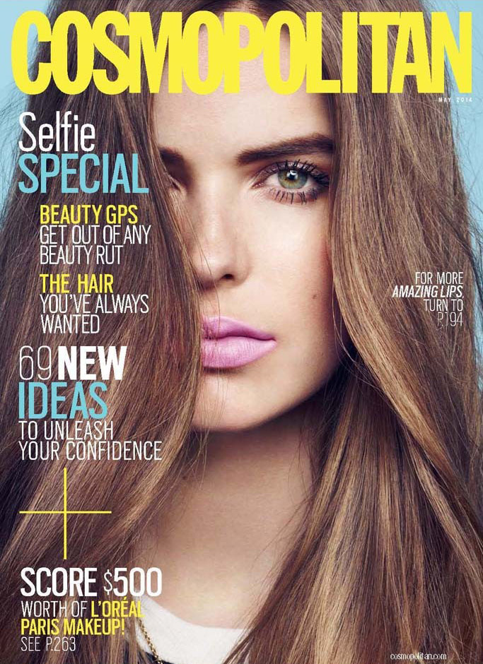 Robyn Lawley Lands Cosmopolitan Beauty Supplement Cover