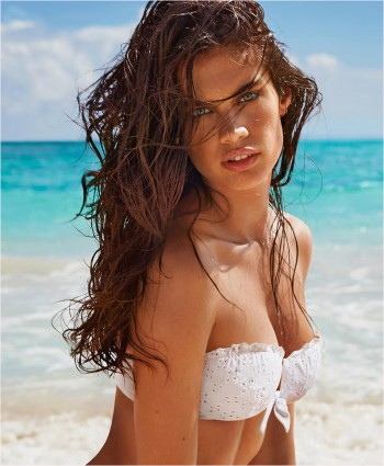 Sara Sampaio Heats Up Calzedonia's Summer 2014 Swimwear Campaign