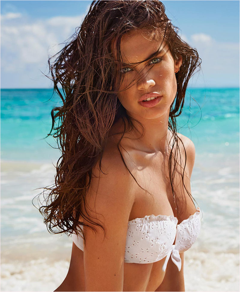 sara sampaio calzedonia swimsuit 2014 campaign10 Sara Sampaio Heats Up Calzedonias Summer 2014 Swimwear Campaign