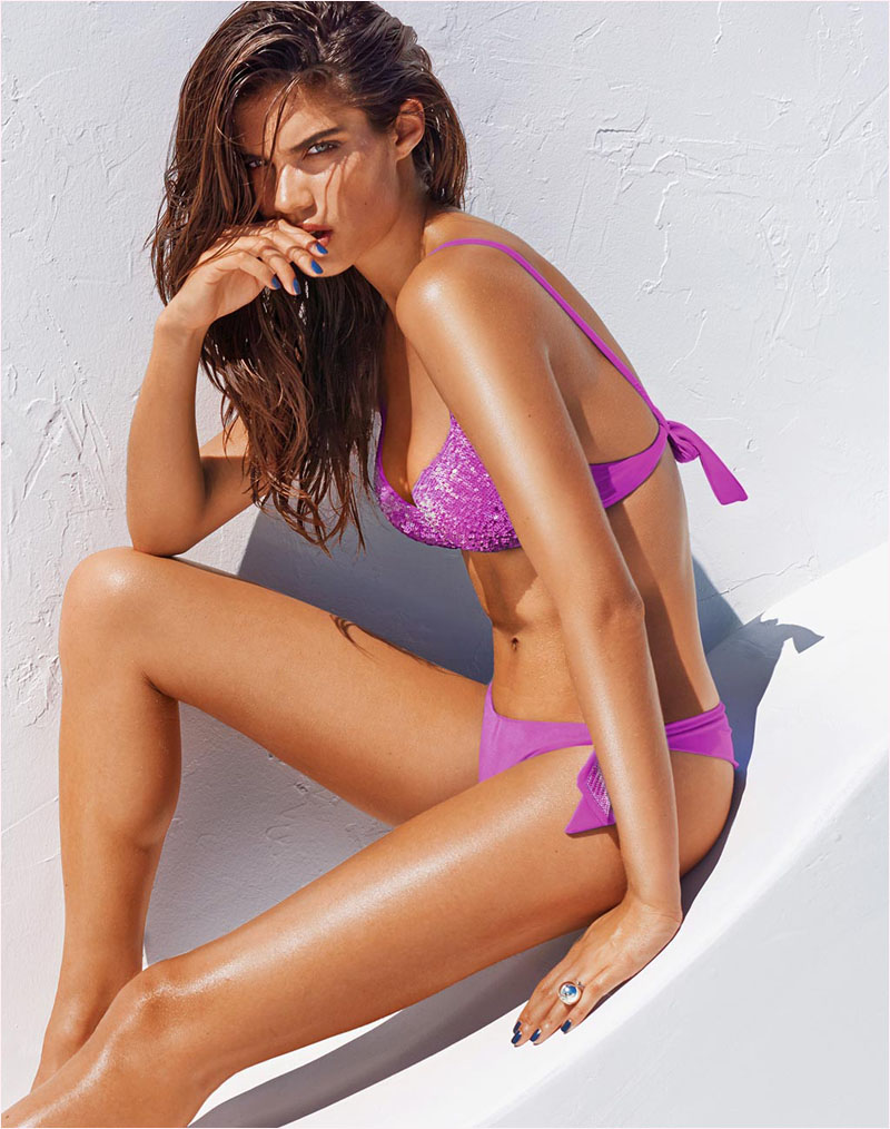 sara sampaio calzedonia swimsuit 2014 campaign16 Sara Sampaio Heats Up Calzedonias Summer 2014 Swimwear Campaign