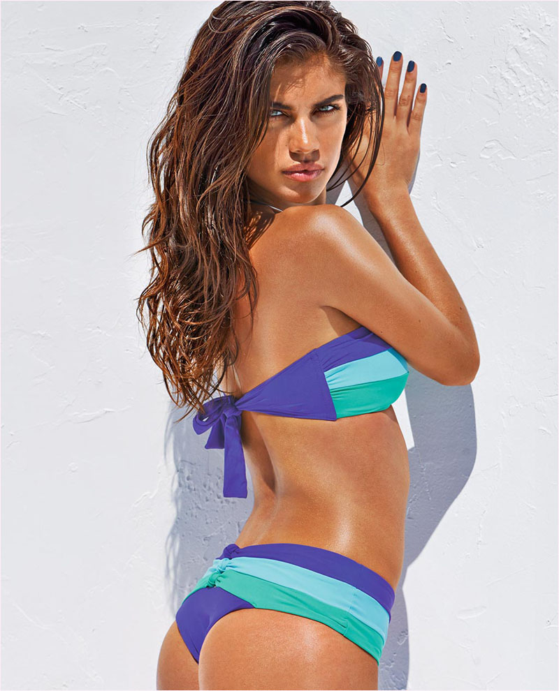 sara sampaio calzedonia swimsuit 2014 campaign18 Sara Sampaio Heats Up Calzedonias Summer 2014 Swimwear Campaign
