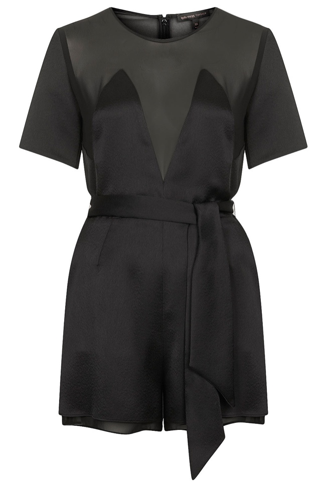 satin playsuit kate moss topshop Its Here! The Kate Moss for Topshop Collection Has Arrived