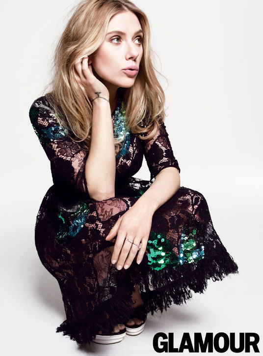 scarlett johansson glamour2 Scarlett Johansson Tells Glamour She Doesnt Like Nickname ScarJo