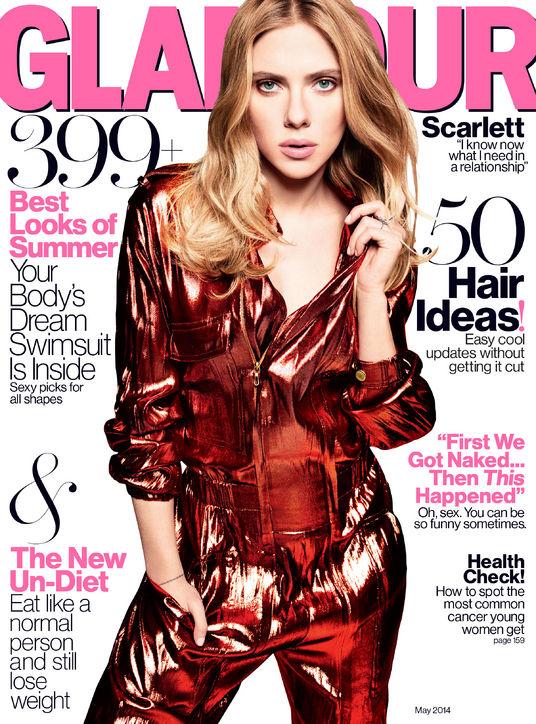 scarlett johansson glamour4 Scarlett Johansson Tells Glamour She Doesnt Like Nickname ScarJo
