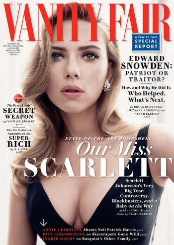 Scarlett Johansson Gets Sultry for Vanity Fair May 2014 Cover