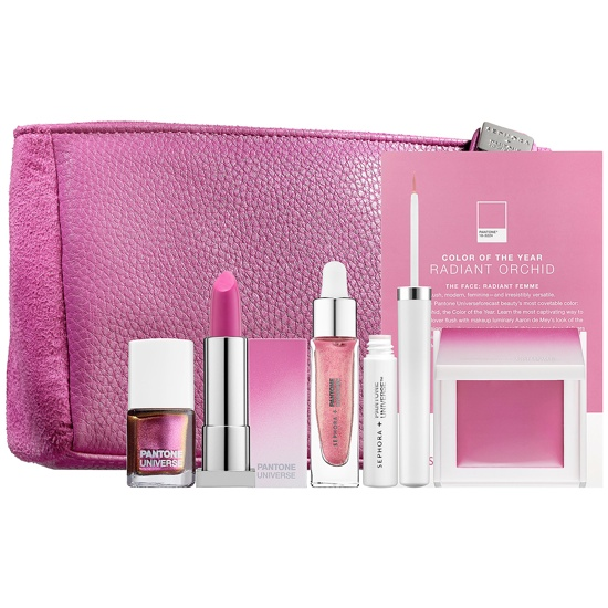 sephora radiant orchid face makeup Sephora + Pantone Radiant Orchid Makeup Collection
