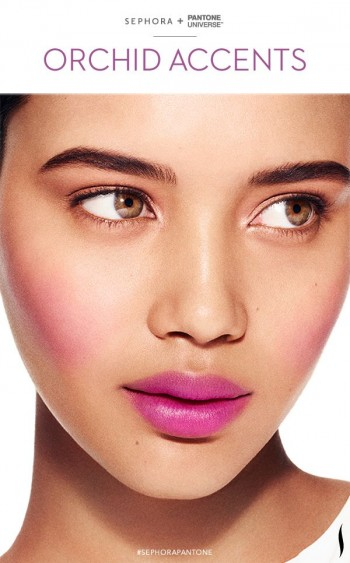 Sephora + Pantone Radiant Orchid Makeup Collection