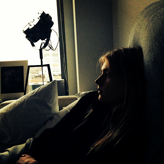 sigrid film Instagram Photos of the Week | Anja Rubik, Karlie Kloss + More Models