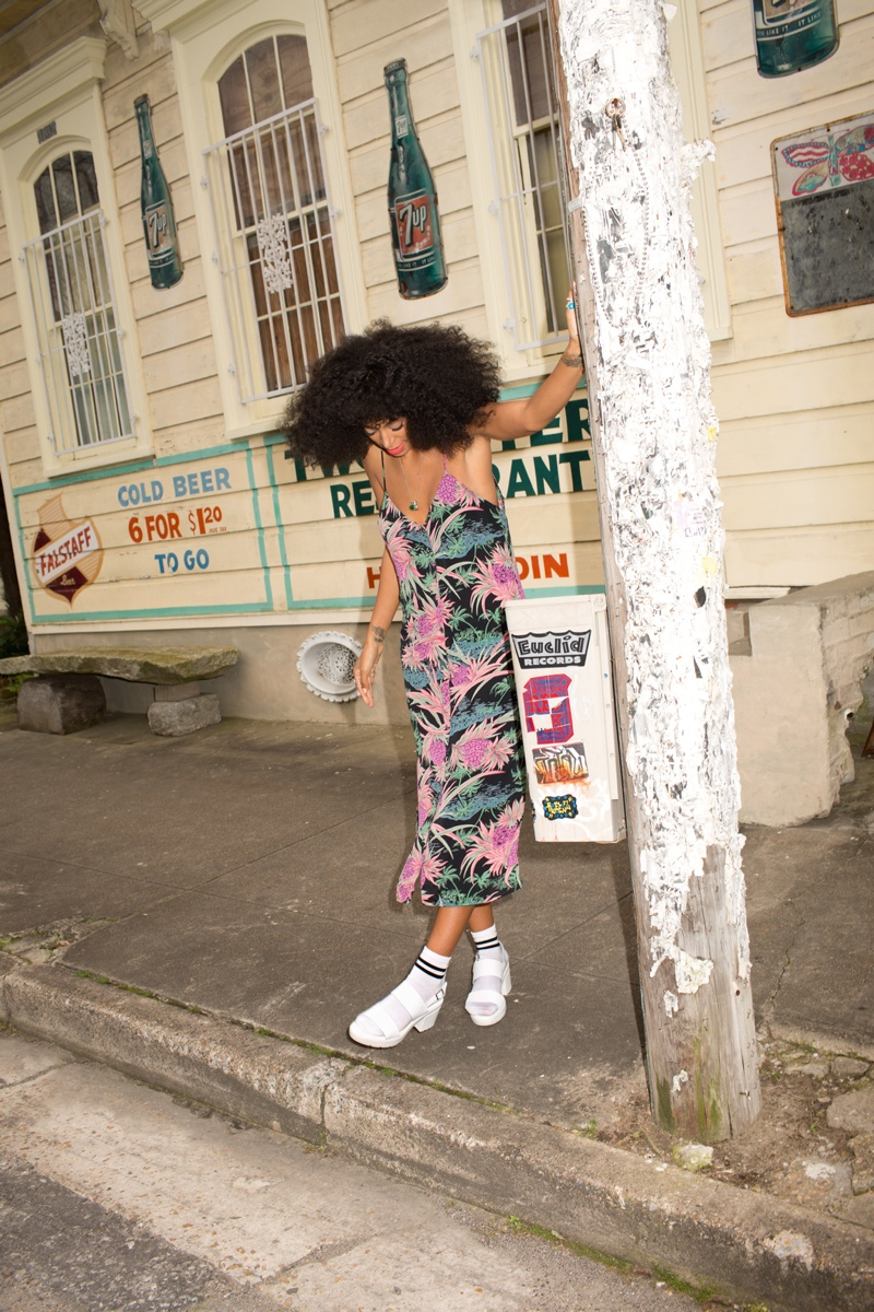 solange knowles asos shoot4 Solange Knowles Embraces Summer for ASOS June Cover Shoot