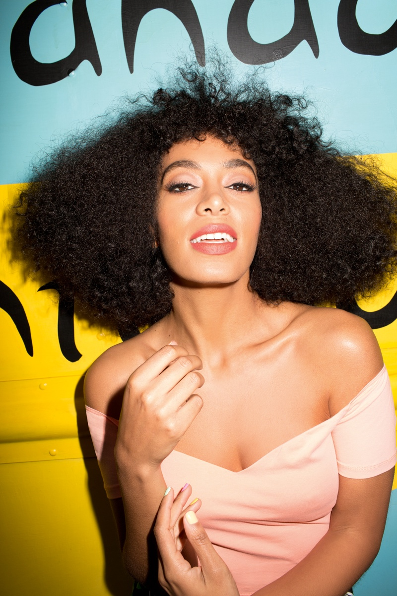 solange knowles asos shoot7 Solange Knowles Embraces Summer for ASOS June Cover Shoot