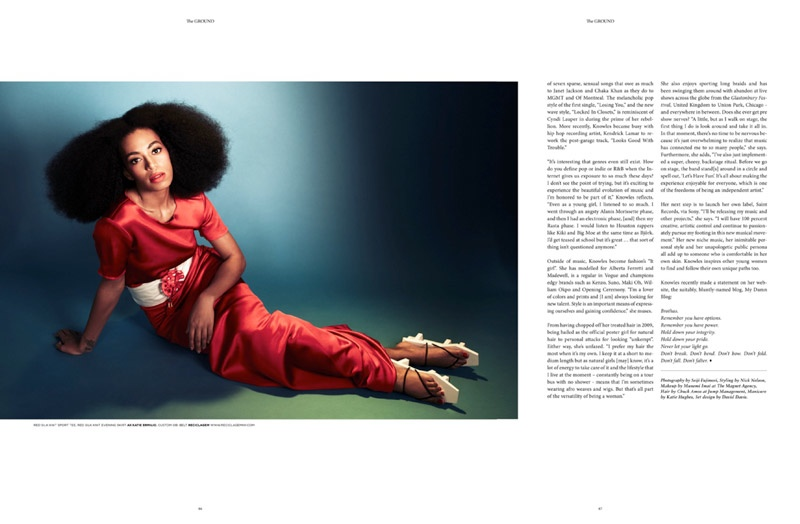 solange knowles photos1 Solange Knowles Goes East for The Ground Shoot by Seiji Fujimori