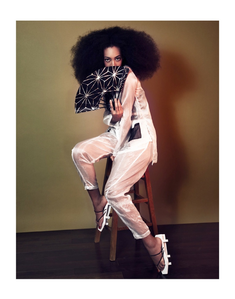 solange knowles photos2 Solange Knowles Goes East for The Ground Shoot by Seiji Fujimori