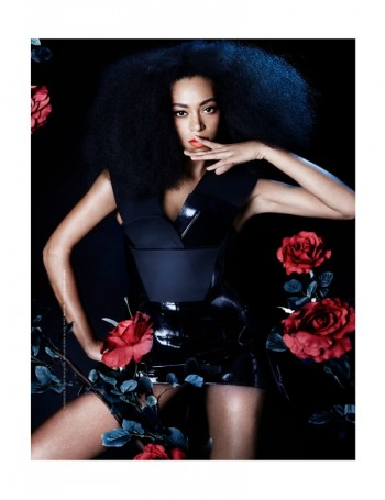 Solange Knowles Goes East for The Ground Shoot by Seiji Fujimori