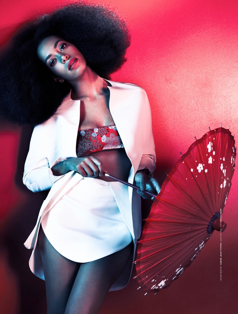 solange knowles photos4 Solange Knowles Goes East for The Ground Shoot by Seiji Fujimori