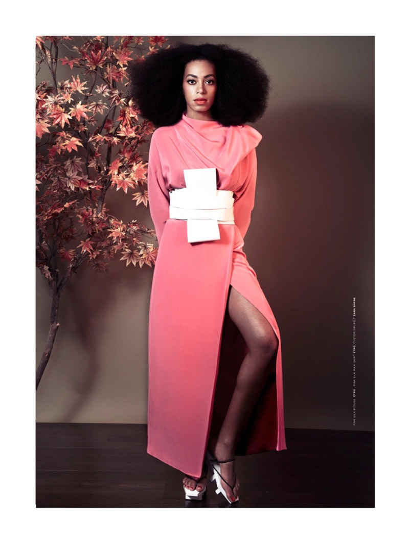 solange knowles photos6 Solange Knowles Goes East for The Ground Shoot by Seiji Fujimori