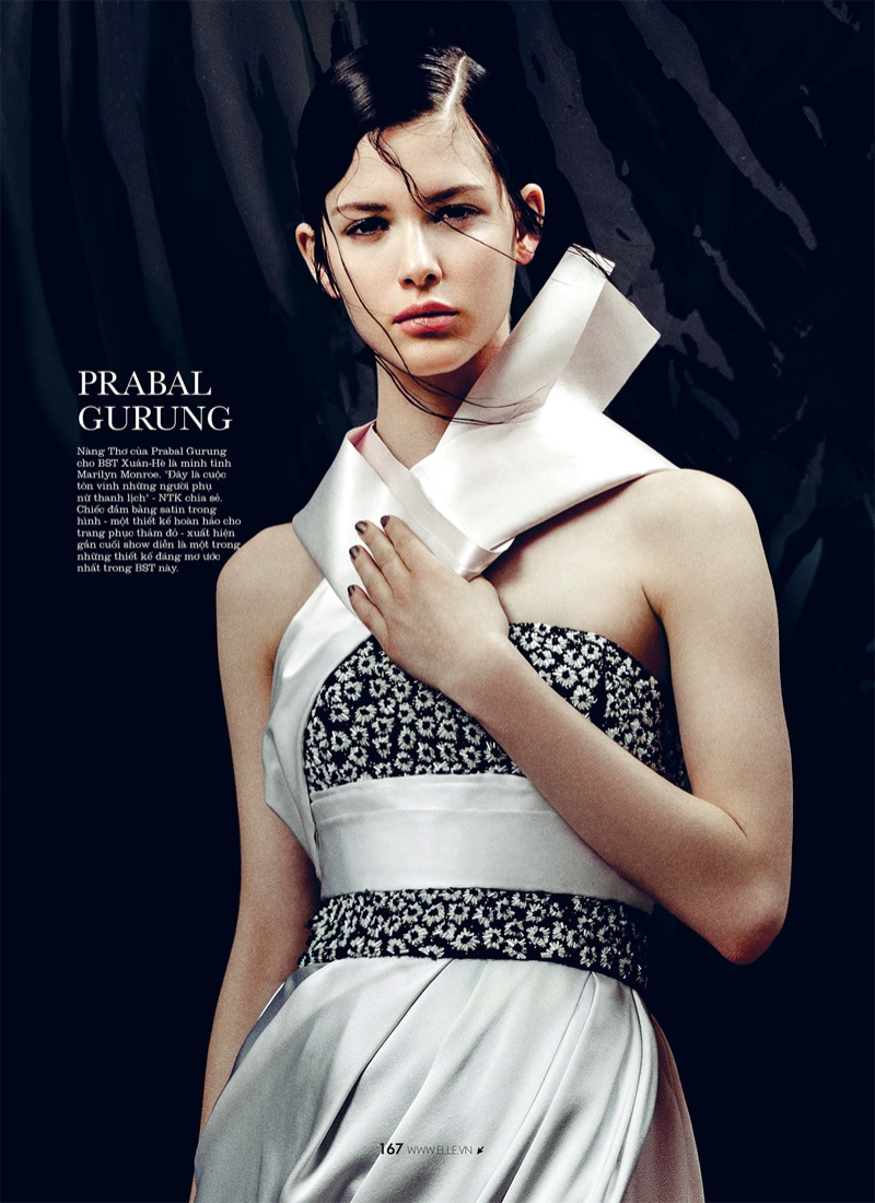 spring collections elle10 Looks to Love: Isabelle Nicolay in the Spring Collections for Elle Vietnam